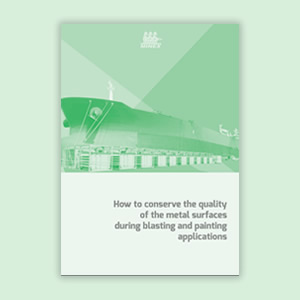How to conserve the quality of the metal surfaces during blasting and painting applications?