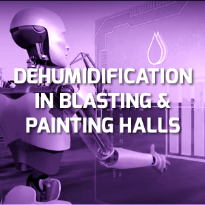 How to control the climate conditions for insuring the best results of blasting and painting operations in shipyards?