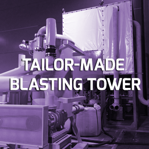 The Customized Blasting Tower – the most efficient surface treatment solution for closed tanks