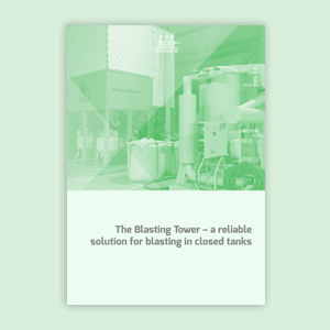The Blasting Tower – the most efficient surface treatment solution for closed tanks